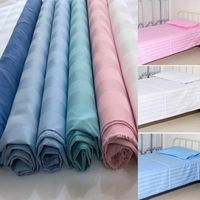 Polyester Cotton Home Textile Satin Stripe Fabric