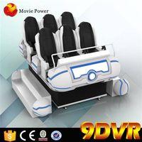 Home Cinema System 6 seat 9D VR Simulator  Cinema  9d cinema equipment For Sale