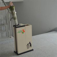 new service lceaning equipment On market t with recycling bin umbrella bag dispenser_