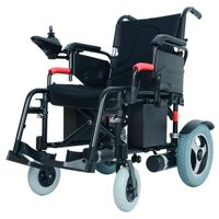 Yattll foldable electric wheelchair power wheelchair motorized wheelchair