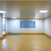 50mm Pharmaceutical Modular Cleanroom Sandwich Wall Panel System thumbnail image