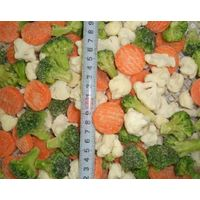 frozen mixed vegetable 3ways frozen broccoli ,cauliflower,carrot supply from China thumbnail image