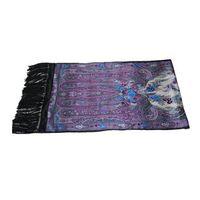 double side silk scarf