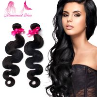 New Style Natural Black Virgin Brazillian Body Wave Human Hair Weft