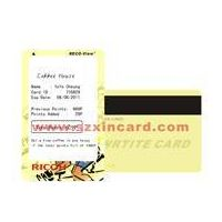 0.76mm Rewrite Visual Card with Magentic Stripe