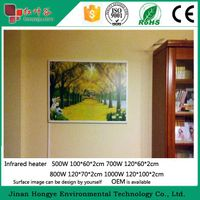 Fast warm hot sale infrared heater panel//carbon crystal heating panel