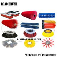 Road Sweeping Snow Cleaning Brush Gutter Brooms