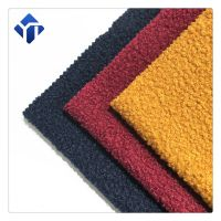 Customized various color polyester boucle women clothing fabric thumbnail image