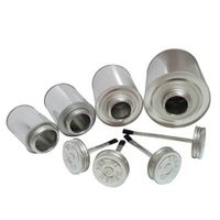 buy 118ml 125ml 250ml 500ml 1L empty tin cans round metal tin for  pvc/cpvc solvent cement use with