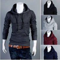 New Autumn Slim Fit Men Hoodies Mens Sports Casual Sweatshirt Jackets Outerwear thumbnail image