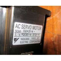 Yaskawa AC Servo Motor SGM-02A314