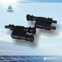 solar power connector with TUV LIST