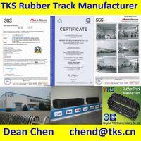 rubber track for excavator,crawler,rice plant machine thumbnail image