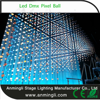 Guangzhou anmingli full color 3d led ball