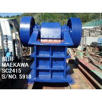"USED ""MAEKAWA"" MODEL SC-2415 (24"" X 15"") SINGLE TOGGLE JAW CRUSHER  S/NO. 5918"