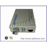 10/100/1000M SFP PORT Media Converter thumbnail image