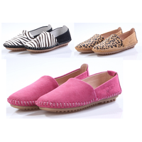 women big size casual shoes soft lazy shoes bean shoes