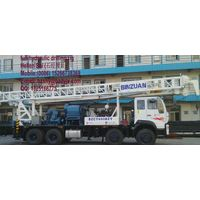 600m full hydraulic rotary truck mounted drilling rig