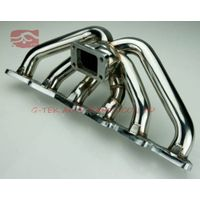 Toyota Supra Soarer 86-92 7MGTE Turbo Exhaust Manifold Race Stainless Steel