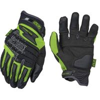 Mechanix Wear Gloves The Safety M-Pact 2 Gloves Heavy Duty Protection Hi-Vizibility / Reflective Glo
