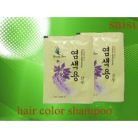sachet  brilliance intensive shine permanent hair dye shampoo