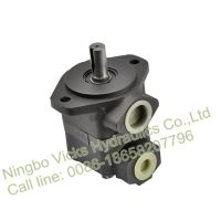 High Quality Rotary Vane Pump V10 Single Oil Hydraulic Pump