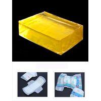 Hot melt positioning adhesive glue for sanitary napkin pad