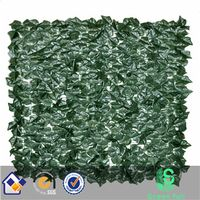 artificial ivy leaf fence