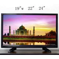 "24"" 12v dc,220v AC LED TV from China factory"