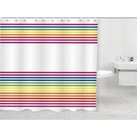 polyester shower curtain PH-010