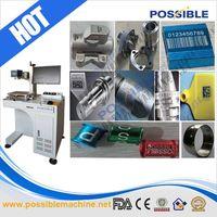JINAN POSSIBLE ENGINEERING&MACHINERY CO.,LTD 20w fiber laser marking machine for plastic seals
