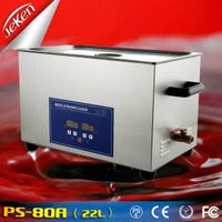 480w Best Used High Quality Digital Portable Ultrasonic Jewelry Cleaner For Sale 22l (Jeken PS-80A)