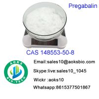 99.5% Purity Pregabalin Pharmaceutical Materials Pregabalin CAS 148553-50-8