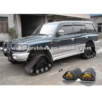 Pickup truck track conversion system