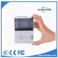 2 Inch rechargeable portable bluetooth thermal printer for Android &iOS device