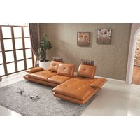 Best-Selling Modern Living Room Leather Sofa L8817