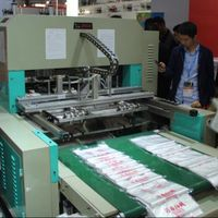 plastic film bag machine