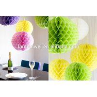 Wedding Decorate Paper honeycomb balls thumbnail image