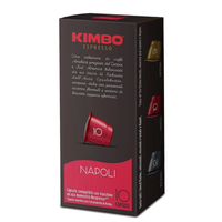 Kimbo coffee capsules for Nespresso