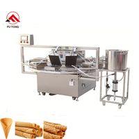 Best sale waffle roll making machine ice cream cone maker egg roll machine thumbnail image