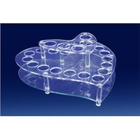 Factory direct handmade custom plexiglass acrylic cosmetic display stand