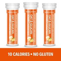 YANGUFANG Oat Beta-Glucan Vitamin C + Sodium Dissolvable Dietary Supplement with Orange Flavor thumbnail image