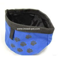 pet dog supply nylon dog bowl