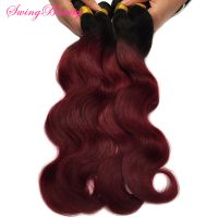 Factory 100% Natural Human Hair Extension Ombre Color In Stock thumbnail image