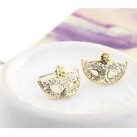 brincos 2014 fashion earring popular restoring shinning stone bijoux crystal pendientes women stud e