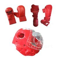 Karate protector in sparring protector