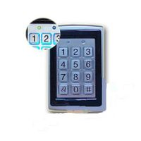 metal access  control only keypad