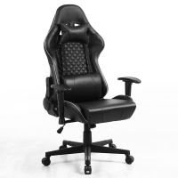 Home office computer games reclining lifting rotating gaming chair