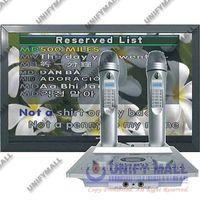 UNIFY SJ-KOD100 HDD/SD Karaoke Magic Microphone + Dual MK100 Wireless Sub Microphone thumbnail image
