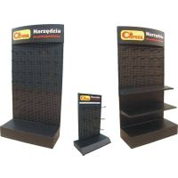 big and small hot sale black medal display stand HSX-1451
